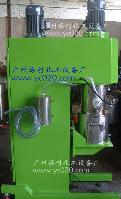 High speed double planetary mixer power