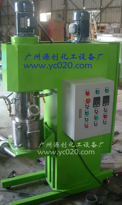 Vertical double planetary mixer power